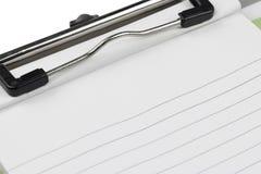 Note de papier de presse-papiers photos libres de droits