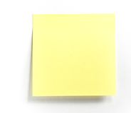 Note de post-it Images libres de droits