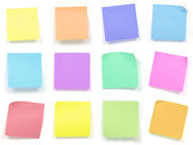 Note de post-it Photographie stock libre de droits