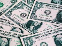 Note del dollaro, Stati Uniti fotografia stock libera da diritti