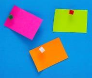 Note di colore Fotografie Stock