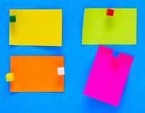 Note di colore Fotografia Stock Libera da Diritti