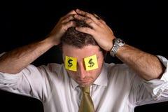Note di Post-it per gli occhi Immagine Stock Libera da Diritti