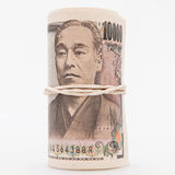 Note di Yen giapponesi Fotografia Stock Libera da Diritti