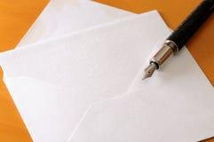 Note et crayon lecteur Image libre de droits