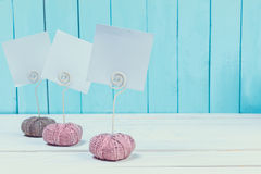 Note holders Royalty Free Stock Photos