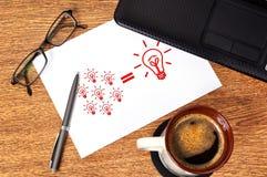 Note idea formula Stock Images