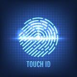 Note Identifikation Anerkennungs-Technologie-Konzept Lizenzfreie Abbildung