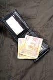 Note indiane di valuta immagine stock
