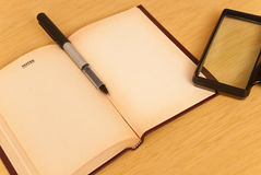 Note Journal Royalty Free Stock Photos