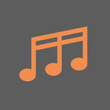 Note Musical Sign Icon Music Concept Royalty Free Stock Image