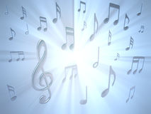 Note musicale Image stock