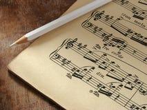 Note musicali   Fotografia Stock Libera da Diritti