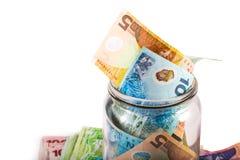 Note nella valuta della Nuova Zelanda Immagini Stock