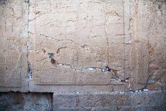 Note nello spazio vuoto delle pietre alla parete lamentantesi Fotografia Stock Libera da Diritti
