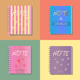 Note notebook  office  Royalty Free Stock Image