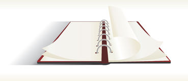 Note pad. Double sided note pad - vector Royalty Free Stock Photos