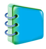Note pad royalty free illustration