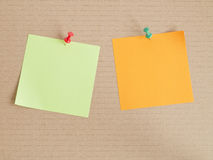 Note pad - blend Stock Images