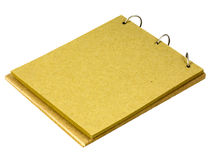 Note pad made from recycle paper Royalty Free Stock Images
