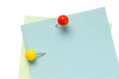 Note pad reminder Stock Images