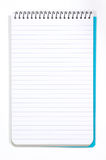 Note Pad With White Pages stock photo