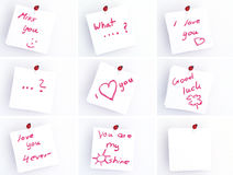 Note pads Stock Photos