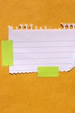 Note paper Stock Photography