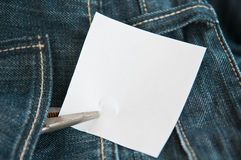 Note paper Stock Image