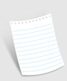 Note paper Royalty Free Stock Photo