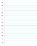 Note paper Royalty Free Stock Photos