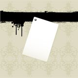 Note paper background Stock Image