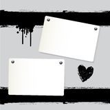 Note paper background Royalty Free Stock Photography