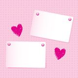 Note paper background Royalty Free Stock Images