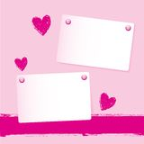 Note paper background Stock Images