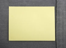 Note with a paper clip Royalty Free Stock Photography