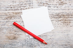 Red pencil Royalty Free Stock Photos