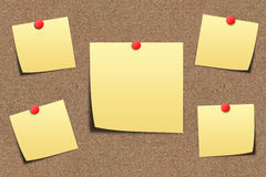 Note paper on sand board royalty free stock photography
