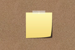 Note paper on sand board royalty free stock photos