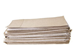 Note paper stack Royalty Free Stock Image