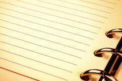 Note paper in vintage look Stock Photography