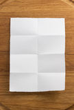 Note paper on wood stock photography