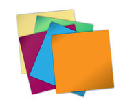 Note papers Royalty Free Stock Image