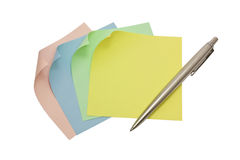 Note papers Royalty Free Stock Photography