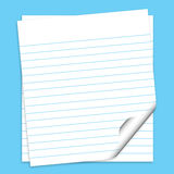 Note papers Royalty Free Stock Photos