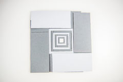 Note papers cards Stock Image