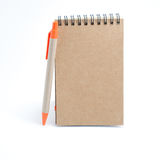 Note with pen Royalty Free Stock Photos
