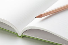 Note and pencil Stock Photography