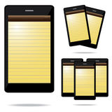 Note phone stock photography