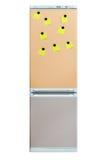 Note on refrigerator door Stock Photography